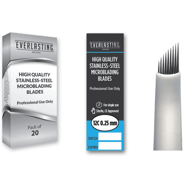 Microblading Slanted 0.25mm / 12