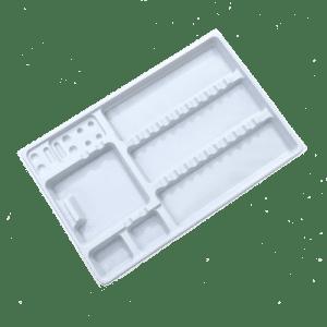 Disposable Plastic Trays X 50