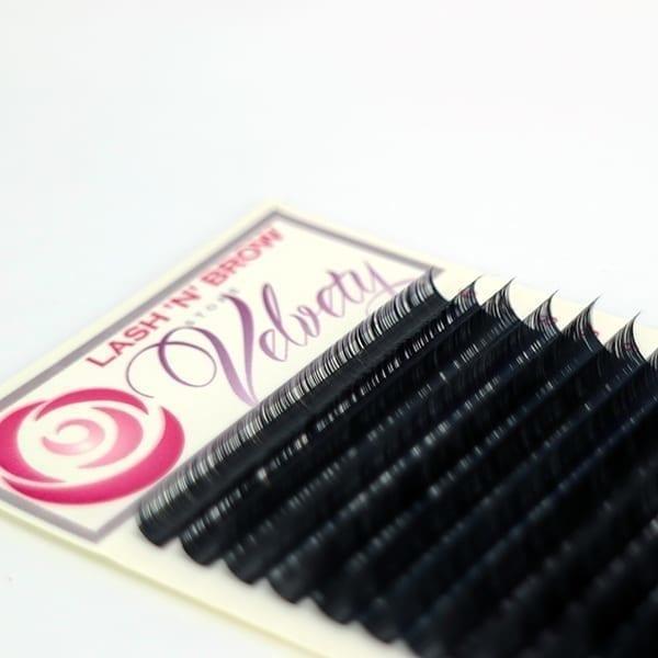 Velvety 0.07mm fransar