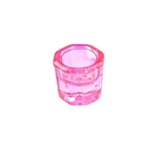 Ljus Rosa Dappen Dish