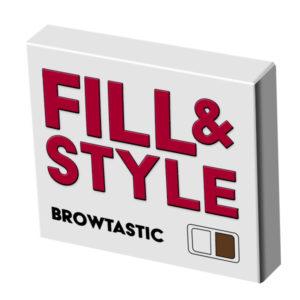 Browtastic - FILL & STYLE brynstylingprodukt I två toner