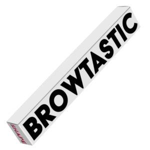 Browtastic - SHAPE stilren förpackning som innehåller vaxpenna och pennvässare