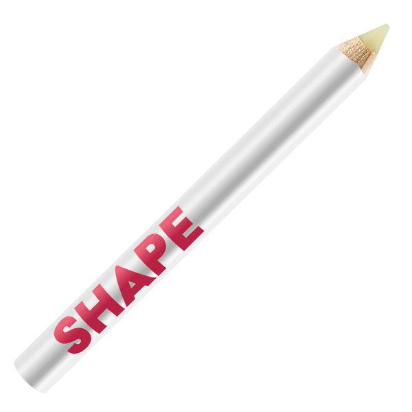 Browtastic - Shape. Ett vax i pennform för hygienisk hantering av produkten.